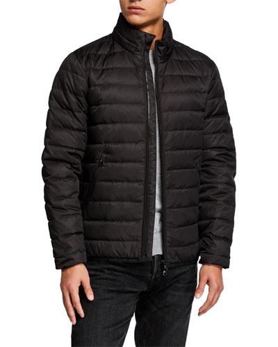 Men's Medium-Weight Puffer Coat