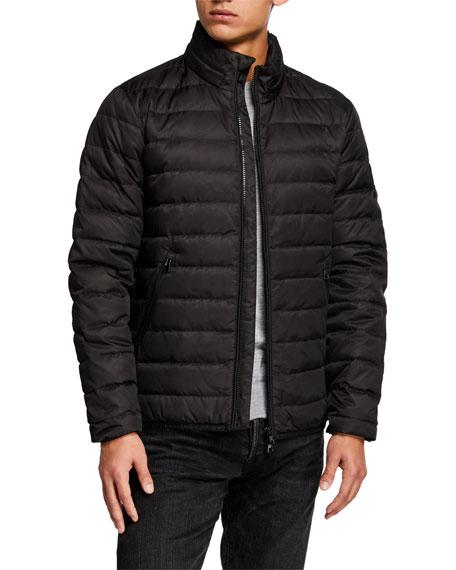 Emporio Armani Men's Medium-Weight Puffer Coat