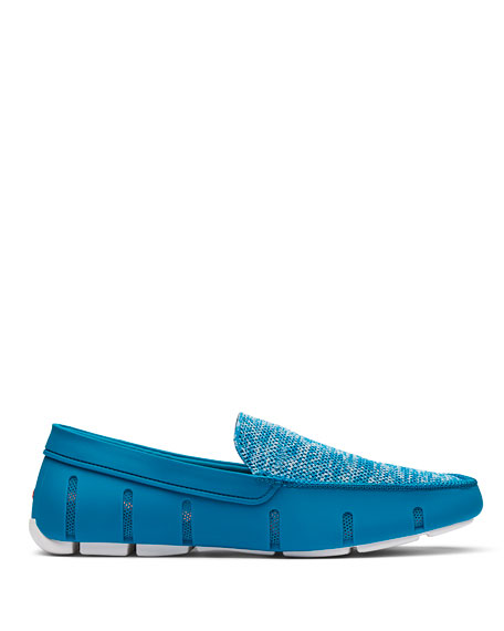 Image 2 of 4: Swims Men's Mesh/Rubber Venetian Driver Loafers