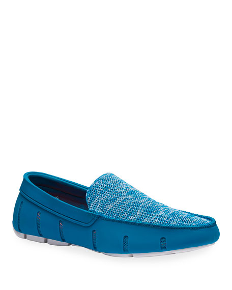 Image 1 of 4: Swims Men's Mesh/Rubber Venetian Driver Loafers