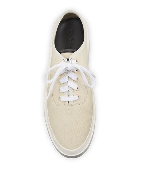 Fear of God Men's Canvas Platform Backless Sneakers