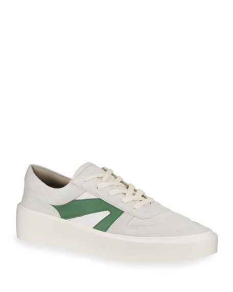 Image 1 of 4: Fear of God Men's Suede/Leather Platform Skate Sneakers