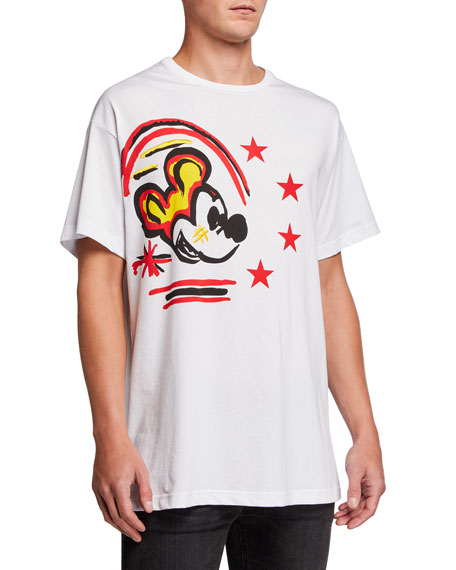 Iceberg Men's New Years Mouse Graphic T-Shirt