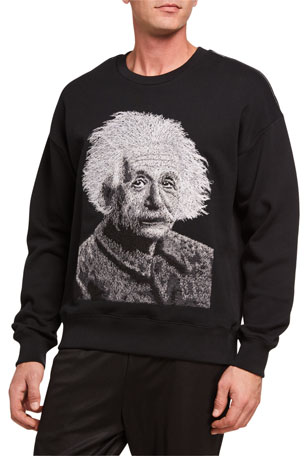 INC Mens Faux Leather Panel Raglan Sleeves Crewneck Sweater Gray L