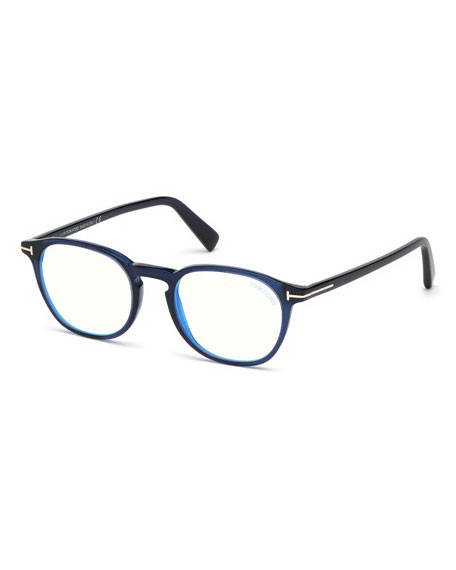 Image 1 of 1: Men's Two-Tone Square Optical Frames