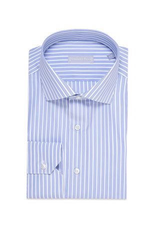 Stefano Ricci Men's Triple Stripe Dress Shirt