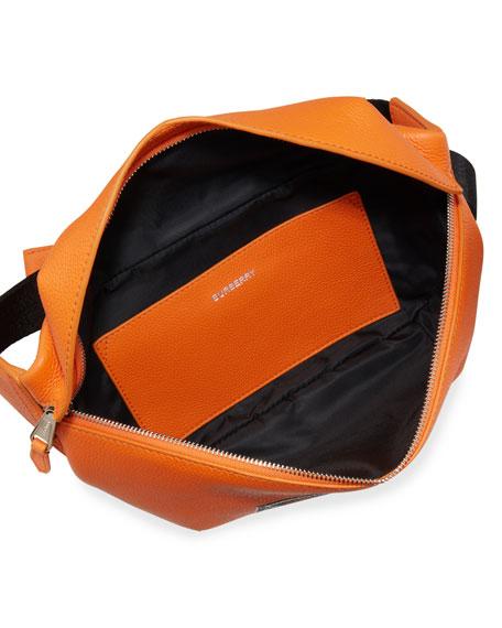 Burberry Men's Sonny Logo-Print Leather Belt Bag