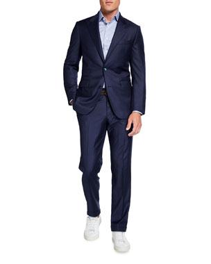 Atelier Munro Men's Narrow Chalk-Stripe Two-Piece Suit