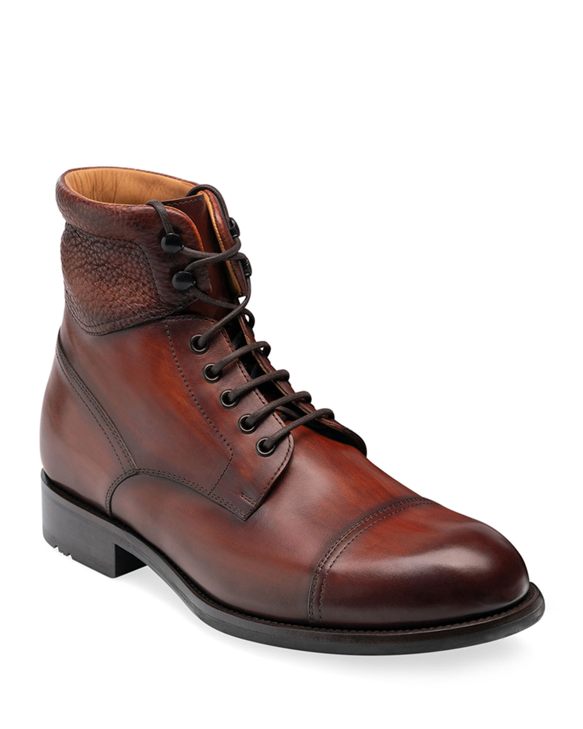 mens-peyton-ii-burnished-leather-lace-up-boots by magnanni