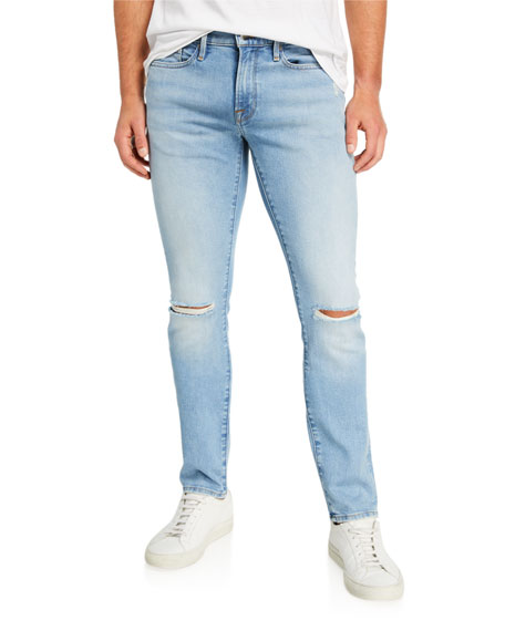 Image 1 of 3: Men's L'Homme Skinny-Fit Jeans