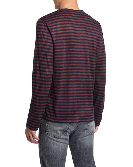 FRAME Men's Refined Linen T-Shirt