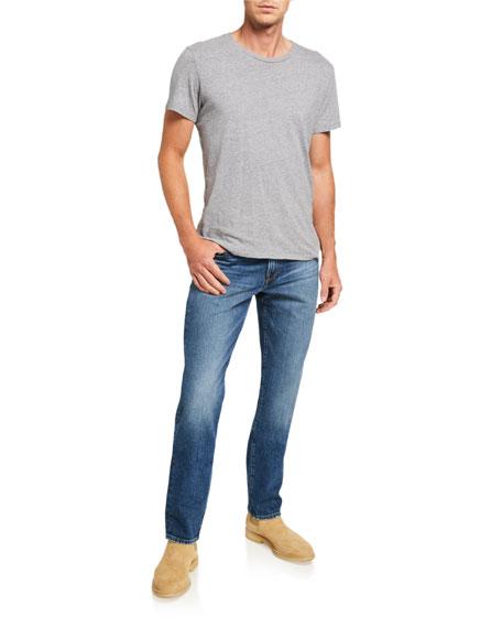 FRAME Men's L'Homme Slim Mid-Wash Jeans