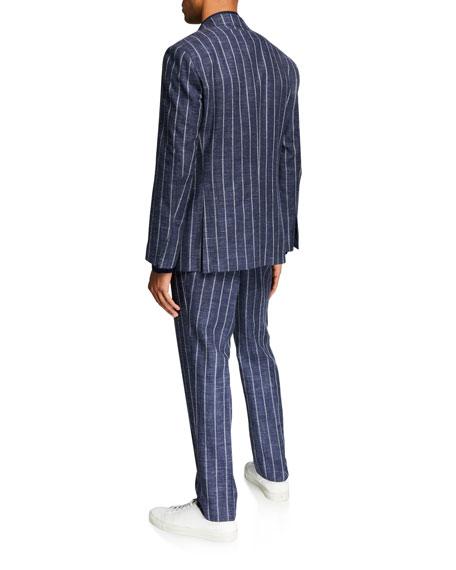Atelier Munro Men's Chalk-Stripe Two-Piece Suit