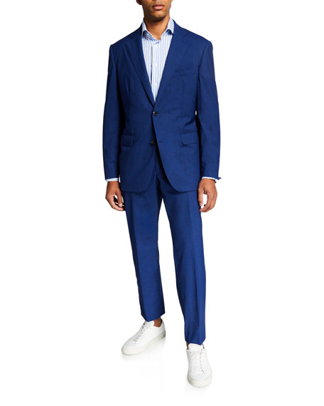 Atelier Munro Men's Super 150s Wool Two-Piece Suit