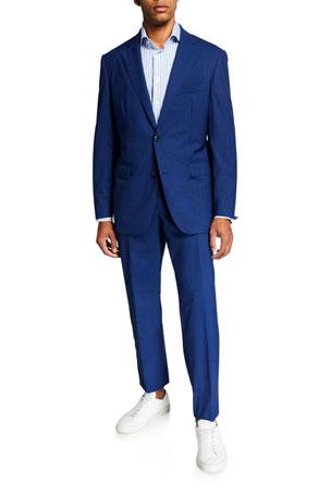 Men S Designer Suits At Neiman Marcus