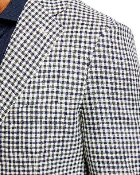 Atelier Munro Men's Check Wool-Blend Sport Jacket