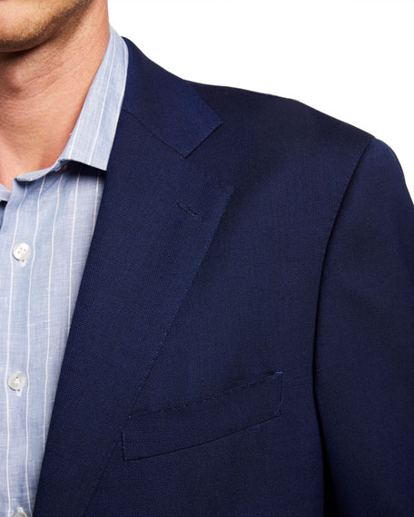 Atelier Munro Men's Hopsack Two-Button Jacket