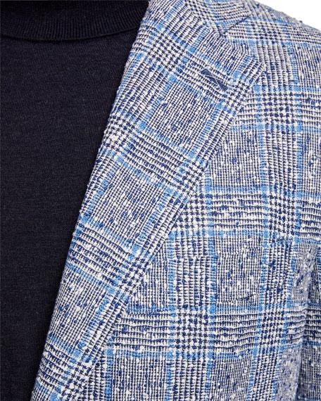 Atelier Munro Men's Plaid Two-Button Jacket