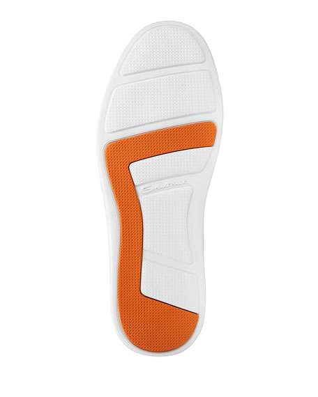 Santoni Men's Leather Low-Top Sneakers