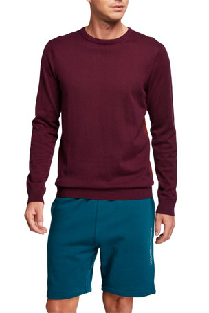 Scotch & Soda Men's Cashmere Crewneck Sweater