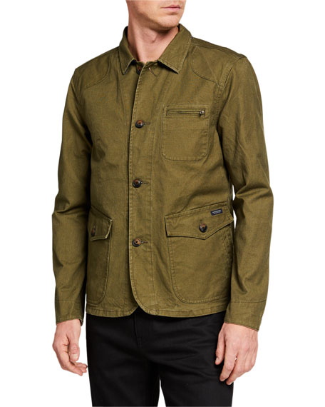 Image 2 of 3: Scotch & Soda Men's Military Canvas Jacket
