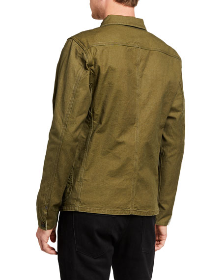 Image 3 of 3: Scotch & Soda Men's Military Canvas Jacket