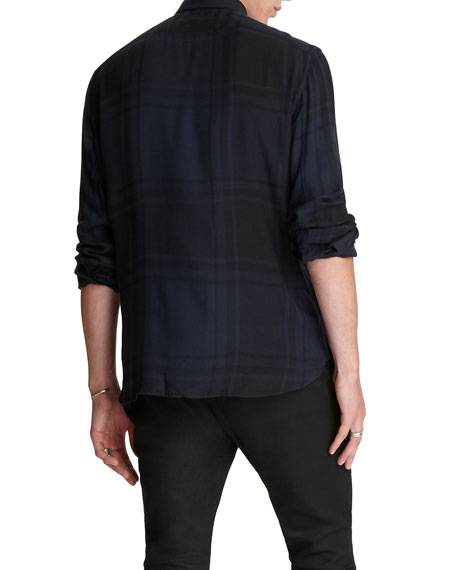 Image 2 of 3: John Varvatos Star USA Men's Rodney Slim-Fit Sport Shirt