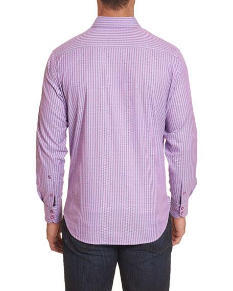 Robert Graham Men's Ventura Striped Sport Shirt