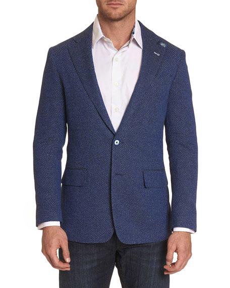 Robert Graham Men's Trinity Cotton Two-Button Jacket