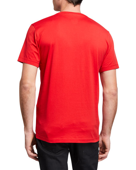 Image 2 of 2: Dsquared2 Men's Cool Fit D2 Milano Logo Tee