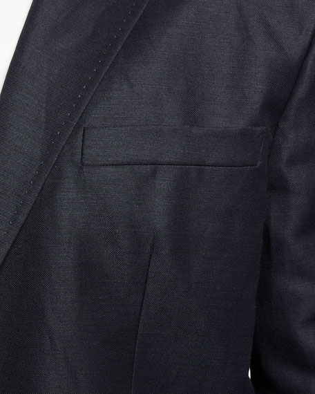 Image 4 of 4: Dsquared2 Men's New York Fit Wool-Linen Suit