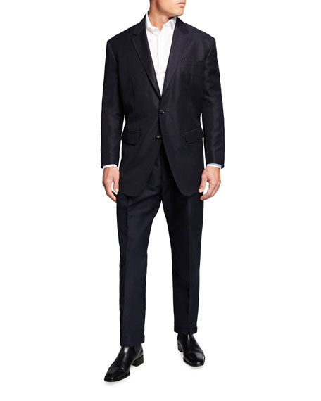 Image 1 of 4: Dsquared2 Men's New York Fit Wool-Linen Suit