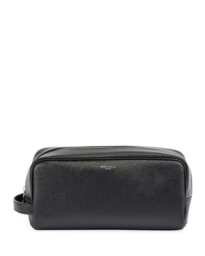 Men's Leather Toiletry Bag