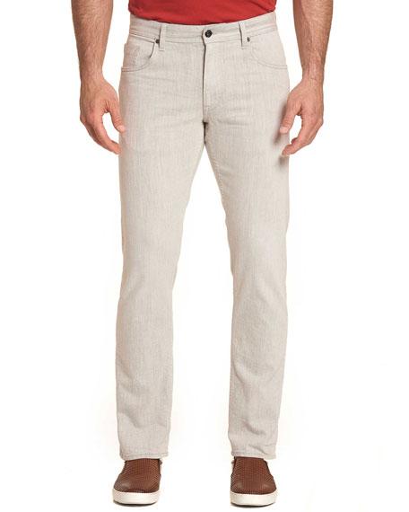 Robert Graham Men's Duvall 5-Pocket Straight-Leg Pants
