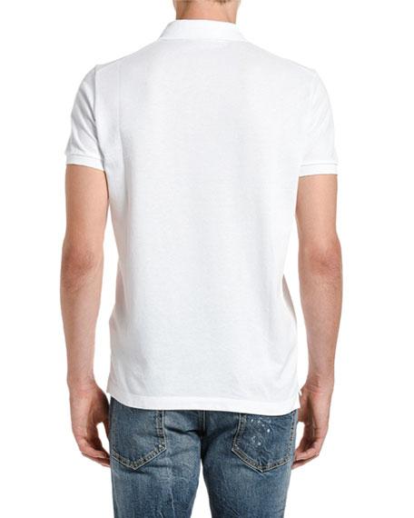 Dsquared2 Men's Classic Fit Pique Polo Shirt