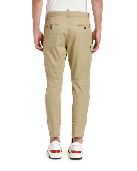 Image 2 of 2: Dsquared2 Men's Clean Sexy Cargo Pants