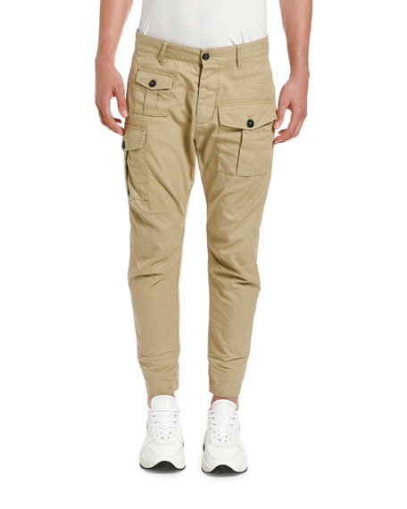Image 1 of 2: Dsquared2 Men's Clean Sexy Cargo Pants
