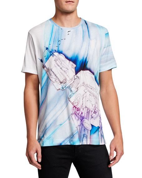 Robert Graham Men's Star Wars Rebel Birds Graphic T-Shirt