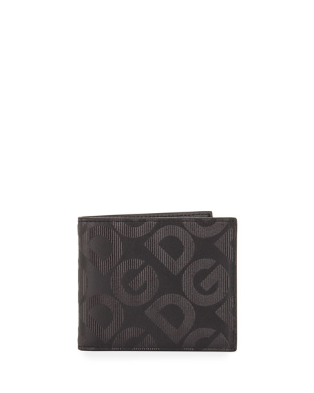 Dolce & Gabbana Men's DG Logo Leather Wallet