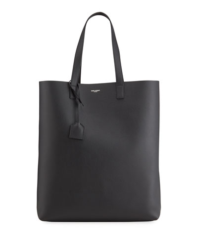 Men's Calf Leather Shopper Tote Bag