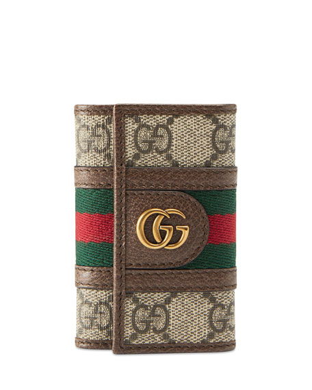 Gucci Wallets Men's GG Supreme Marmont Flap Wallet