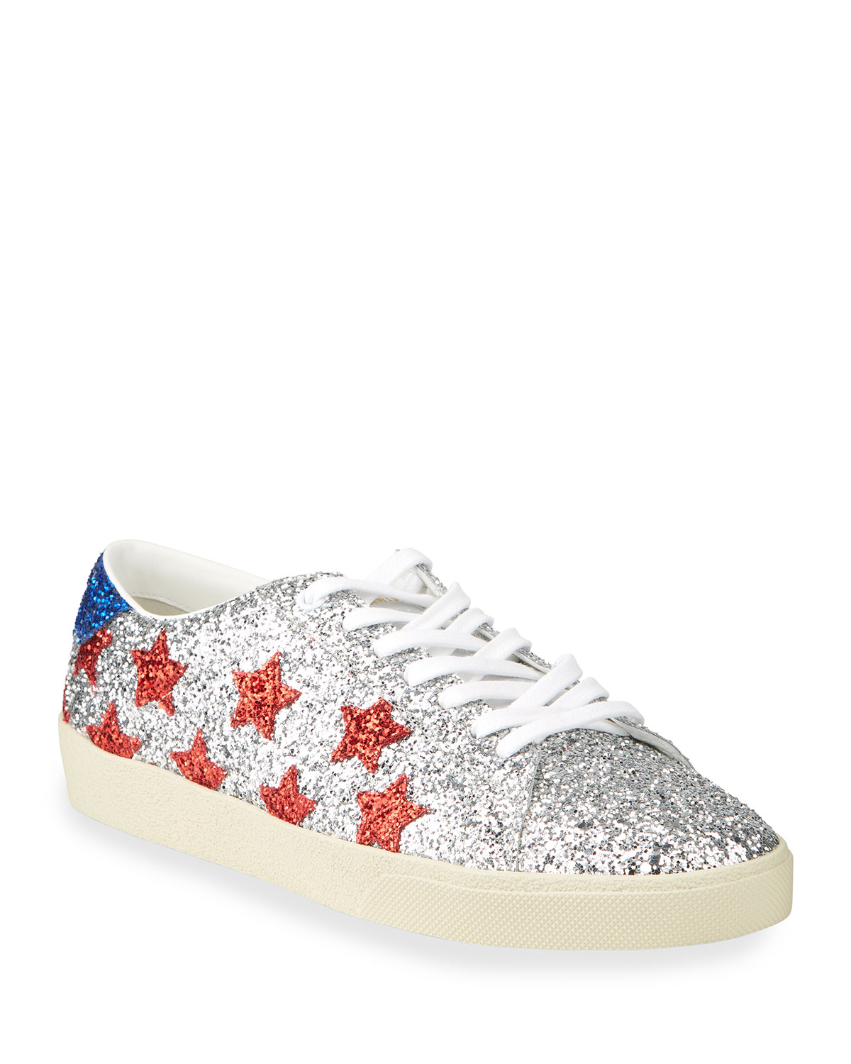 Court Allover Glitter Low-Top Sneakers