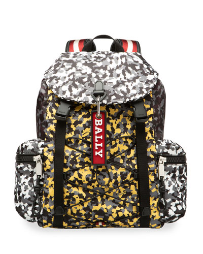 Men's Crew Camouflage Trainspotting Backpack