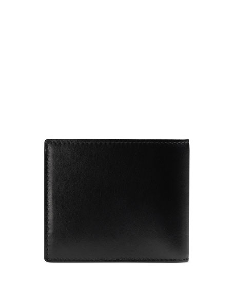 Gucci Men's Lightning Rainbow Logo Bifold Wallet