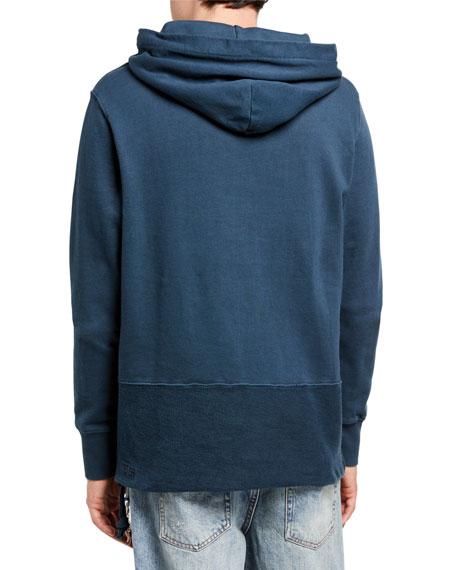 Ksubi Men's Seeing Lines Cotton Hoodie Sweatshirt