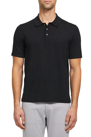 Theory Men's Basic Regal Wool Polo Shirt $254.00