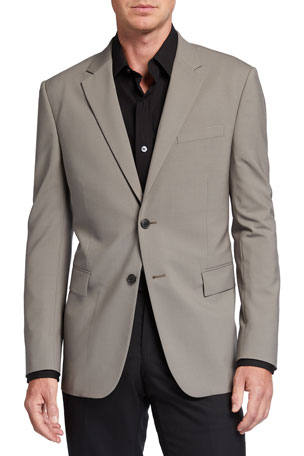 Theory Men's New Bowery Traceable Wool Jacket