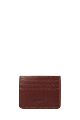 J.W. Hulme Men's Slim Leather Card Wallet