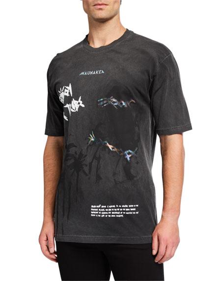 Mauna Kea Men's Crewneck Graphic T-Shirt