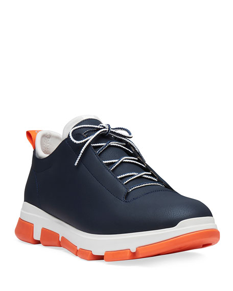 Swims Men's City Hiker Leather Trainer Sneakers